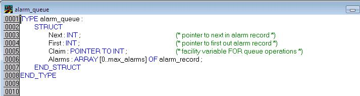 alarmQ_datastruct